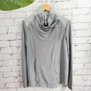 Lululemon Coast Wrap Mod Medium Gray